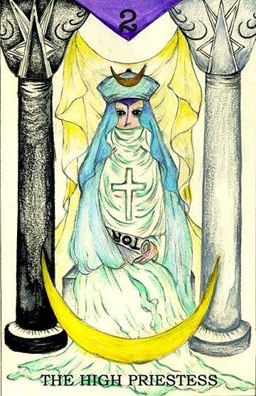 THE HIGH PRIESTESS ~女教皇~
